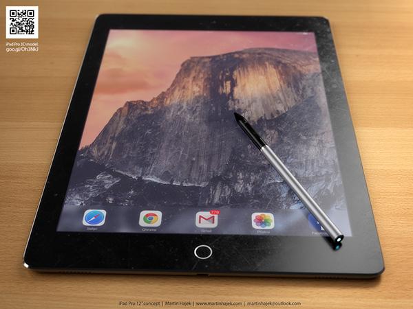 iPad Pro concept, credit: Martin Hajek