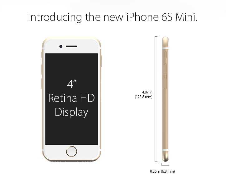 iPhone 6s mini
